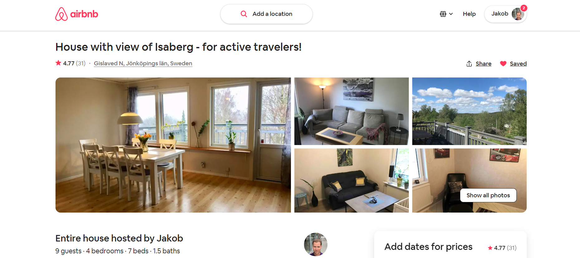 Airbnb – dipping your toes into property investing