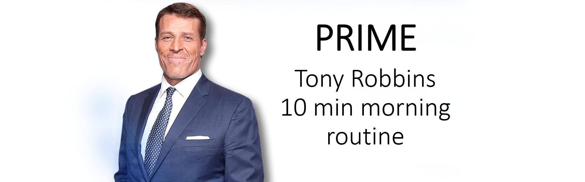 KEY TAKEAWAY FROM UPW WITH TONY ROBBINS – PRIME Yourself!